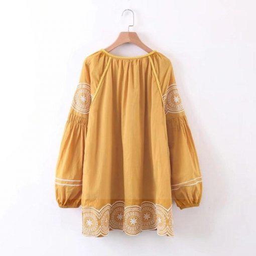 Sommer Boho Kleid