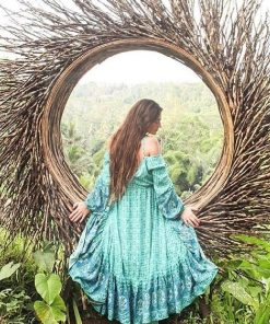 Hippie langes Kleid